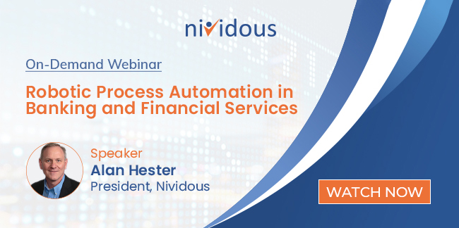On demand webinar RPA in banking and financial services
