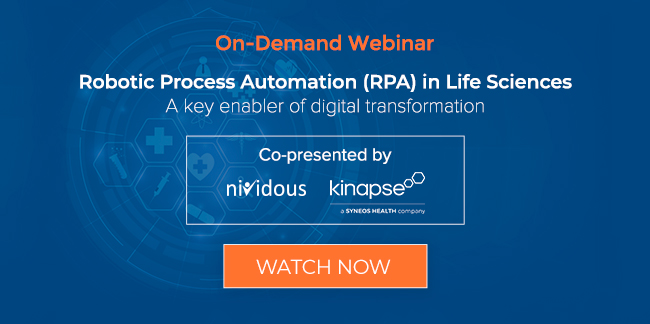 On demand webinar RPA in life science