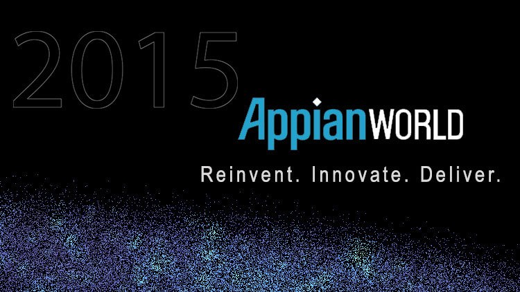 4 AppianWorld from 27th to 29th April 2015