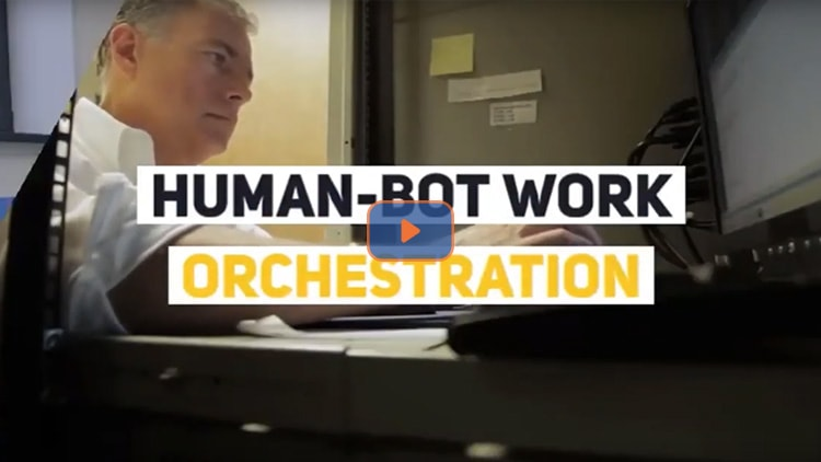 Human Bot Work Orchestration
