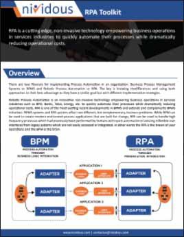 Robotic Process Automation – Nividous RPA