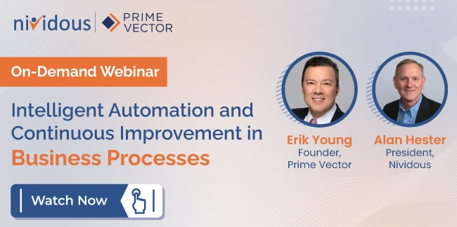 Intelligent Automation and Continuous Improvement in Business Processes
